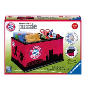 Ravensburger 3D Puzzles - Aufbewahrungsbox FC Bayern München, 216 Teile