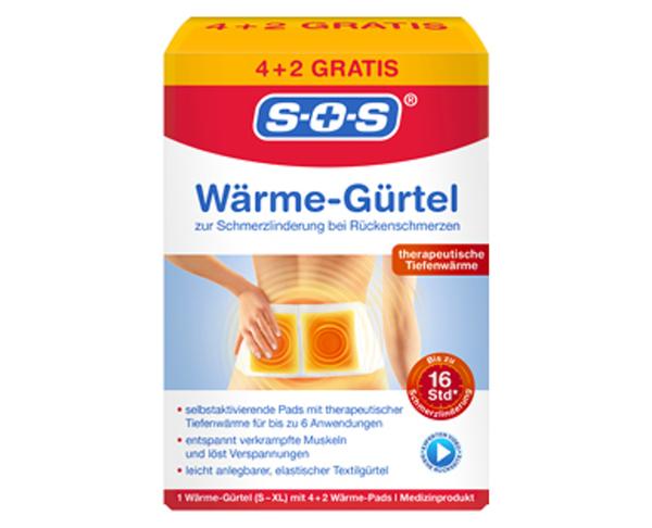 SOS®  Wärmetherapie Wärmegürtel