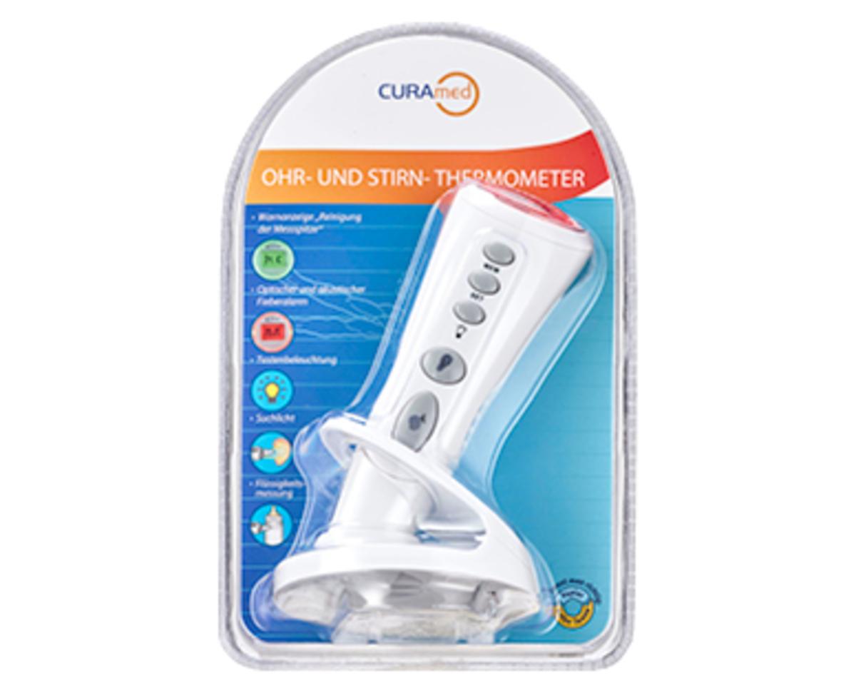 Bild 3 von CURAmed Ohr- und Stirn- oder kontaktloses Thermometer