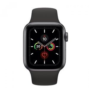 Apple Watch Series 5 GPS schwarz ,  40 mm, spacegrau/schwarz