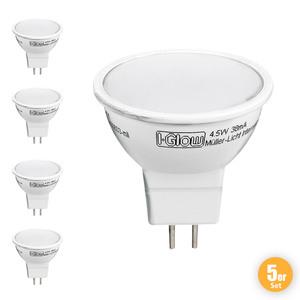I-Glow LED Leuchtmittel GU5.3 - 5er Set