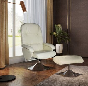 Happy Home Relaxsessel, Farbe: Creme