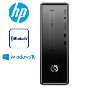Slimline-Desktop-PC 290-a0502ng · AMD-Dual-Core-A4-9125-APU (bis zu 2,6 GHz) · AMD Radeon™ R3 Grafikkarte · 5.1 Surround Sound · WLAN AC · USB 3.1, USB 2.0, HDMI, VGA · DVD-Laufwerk