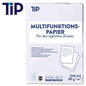 Multifunktionspapier DIN A4 80 g/m², 500 Blatt, weiss, je