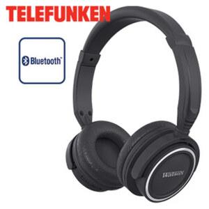 Stereo-Bluetooth®- Kopfhörer KH6000B • für kabellose Musikübertragung vom Smartphone oder Tablet-PC • USB-Anschluss • integr. Li-Polymer-Akku