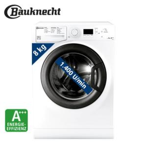 Waschautomat HWM 8F4 • Wolle, wie von Hand gewaschen • Sonderprogramme: u. a. Anti-Allergie-Plus, Antiflecken 20 • Maße: H 85,0 x B 59,5 x T 54,0 cm • Energie-Effizienz: A+++ (Spektrum: A+++