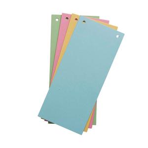 KODi basic Trennstreifen 10,5 x 24 cm 40 Stück verschiedene Farben