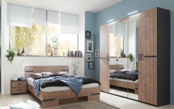 Hardi Schlafzimmer Anna 2 In Graphit Silver Fir Optik Von Hardeck Ansehen