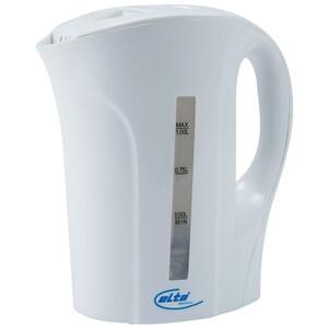 Wasserkocher aus Kunststoff 1 Liter mit Anschlusskabel
