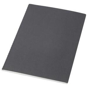 FULLFÖLJA                                Notizbuch, schwarz, 21x15 cm