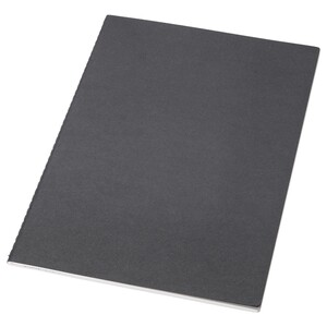 FULLFÖLJA                                Notizbuch, schwarz, 26x18 cm