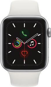 Apple Watch Series 5 GPS, 44mm Alu weisses Armband