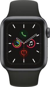 Apple Watch Series 5 GPS, 40mm Alu schwarzes Armband