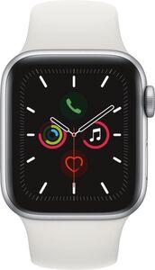 Apple Watch Series 5 GPS, 40mm Alu weisses Armband