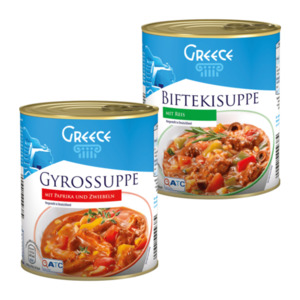 GREECE     Suppe