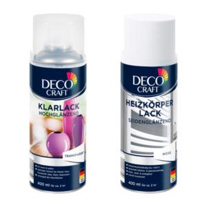 DECO CRAFT     Heizkörperlack / Klarlack