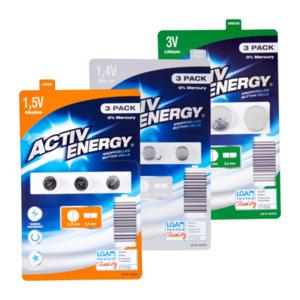 Knopfzellen-Batterien