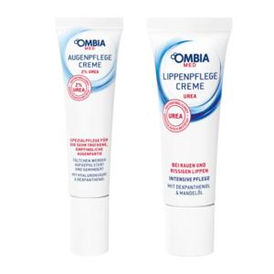 OMBIA MED     Lippen- / Augenpflegecreme
