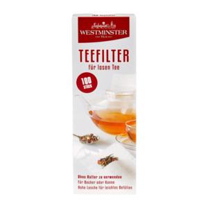 WESTMINSTER     Teefilter