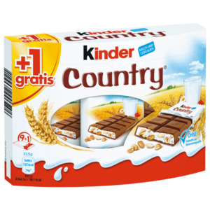 Ferrero Kinder Country 9er+1 10x23,5g
