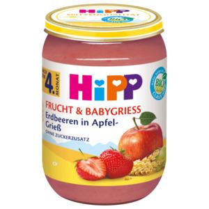 Hipp Bio Frucht und Babygrieß ab 4.Monat 190g