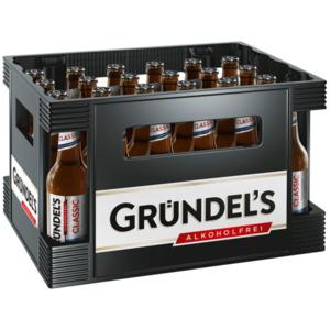 Gründel's Classic alkoholfrei 24x0,33l