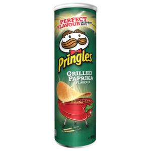 Pringles Grilled Paprika 200g