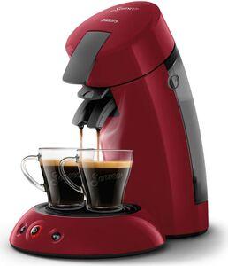 Philips Senseo HD6553/80 Kaffeepadmaschine, rot