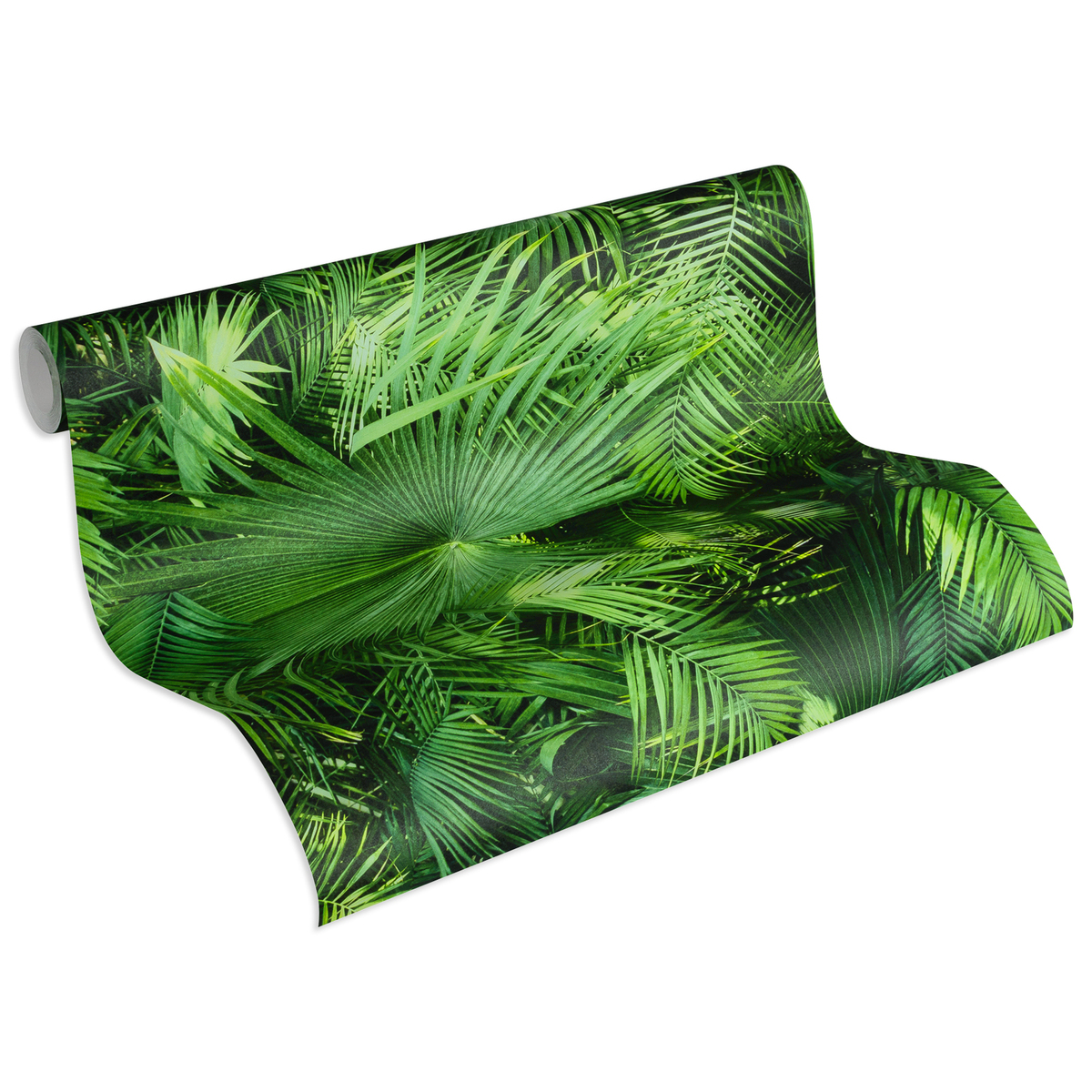 Bild 2 von A.S. Creation NEUE BUDE 2.0 Vliestapete - grün - Blätter - 10 Meter