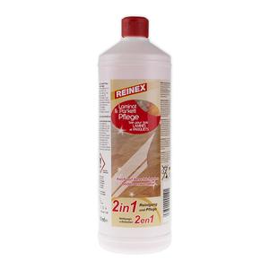 REINEX Laminat-Parkettpflege - Reinigung und Pflege - 1 Liter