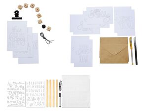 CRELANDO® Handlettering- und Rahmensortiment