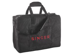 SINGER Nähmaschinentasche, innen gepolstert, mit Tragegurt und extra Reißverschlusstasche