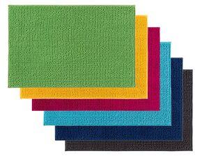 MIOMARE® Badteppich, Mikrofaser, rutschhemmende Unterseite, 50 x 80 cm