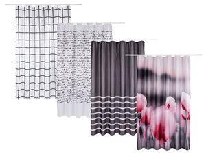 MIOMARE® Duschvorhang 180x200cm