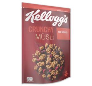 KELLOGG`S Crunchy Müsli Red Berries