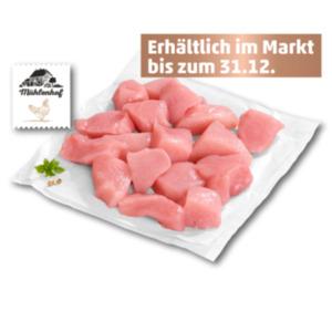 MÜHLENHOF Frisches Hähnchen-Fonduefleisch