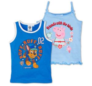LIZENZ Kinder-Unterhemden