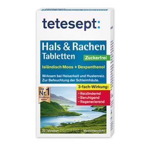 Tetesept Hals & Rachen Tabletten