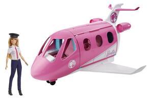Barbie Reise Traumflugzeug Puppe