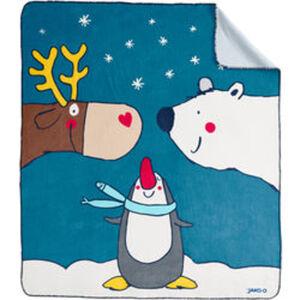Kuscheldecke Weihnachten