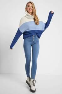 Regular Waist Skinny Jeans
