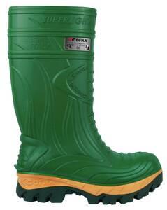 Sicherheits PU Stiefel S5, Farbe grün COFRA