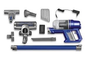 Akku-Zyklon-Staubsauger Pro Power, Blau/ Silberfarben Clean Maxx