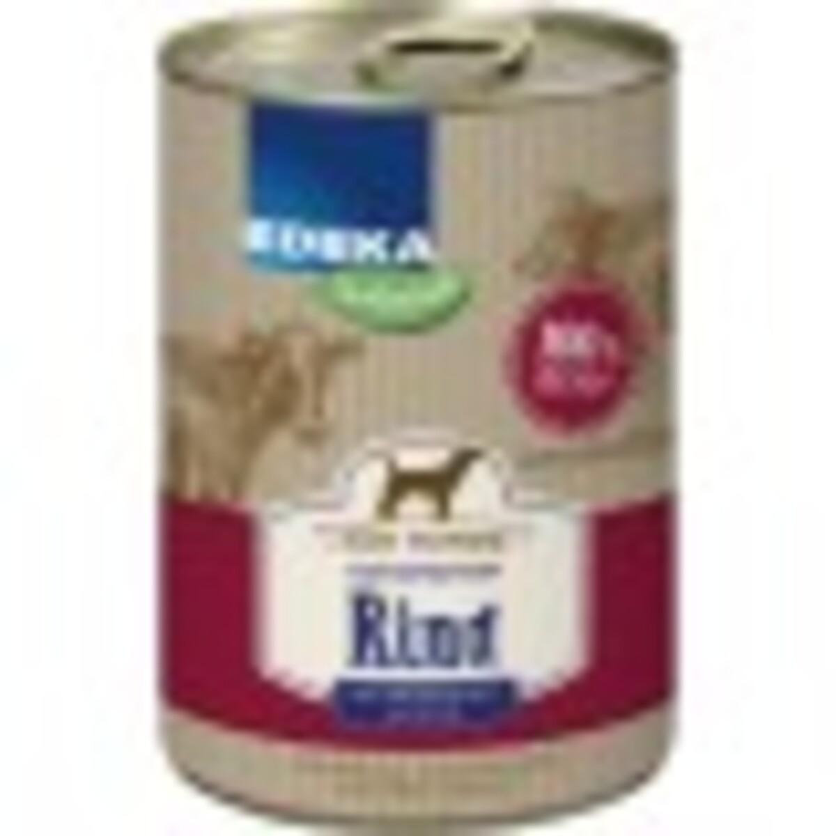 Bild 1 von EDEKA Naturals Monoprotein Rind Hundefutter nass 400 g