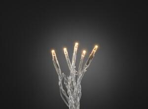 Konstsmide LED Microlichterkette ,  50 LED, bernstein