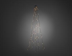 Konstsmide LED Baummantel mit Ring ,  5 Stränge a 30 Dioden