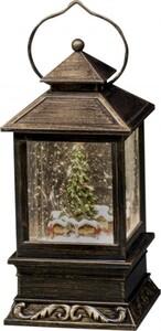 Konstsmide Schneelaterne Weihnachtsmarkt ,  Höhe: 22 cm