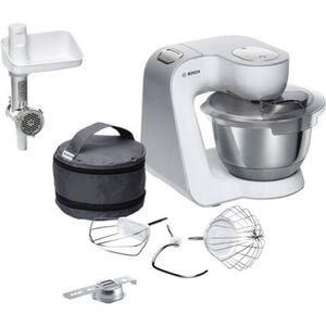 Bosch Küchenmaschine MUM58225, weiß, weiß/silber