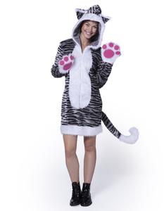 Damen Kätzchen Kostüm