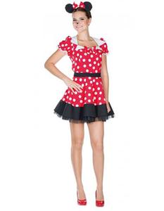 Damen Mäuschen Kostüm